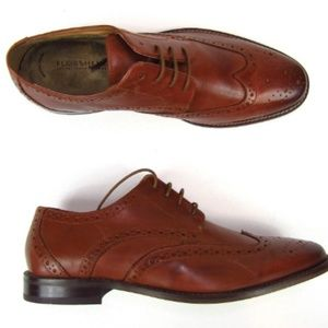 Florsheim Mens Shoes Montinaro Wingtip Oxfords New